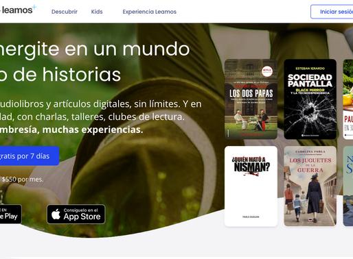"""Leamos: el """"Netflix"""" de los libros, made in Argentina"""