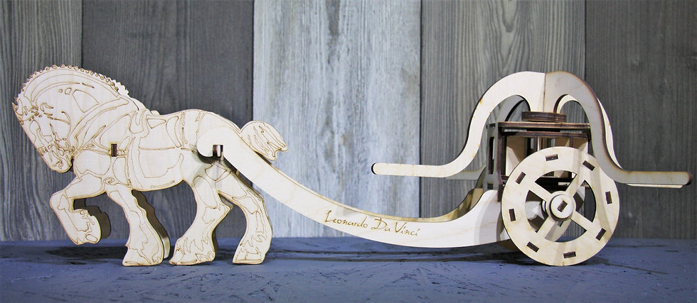 Модель экспоната Леонардо да Винчи