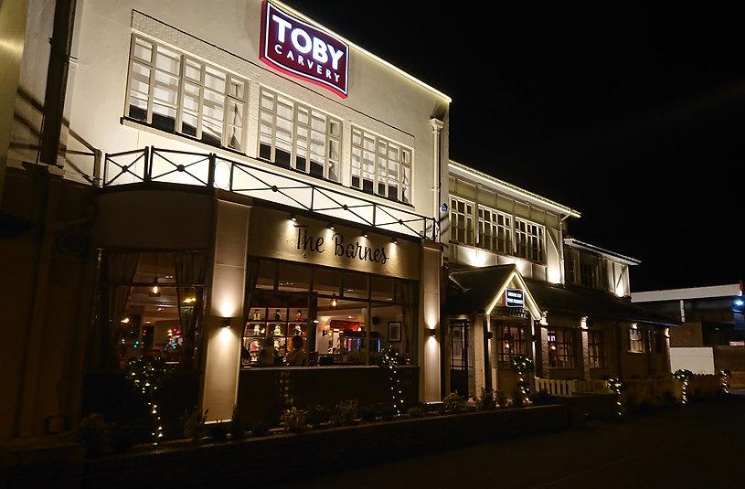 New Toby Carvery at night.jpg
