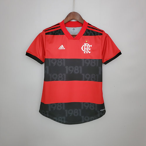 Camisa Feminina - Flamengo I 21/22