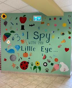 I Spy With My Little Eye Wall