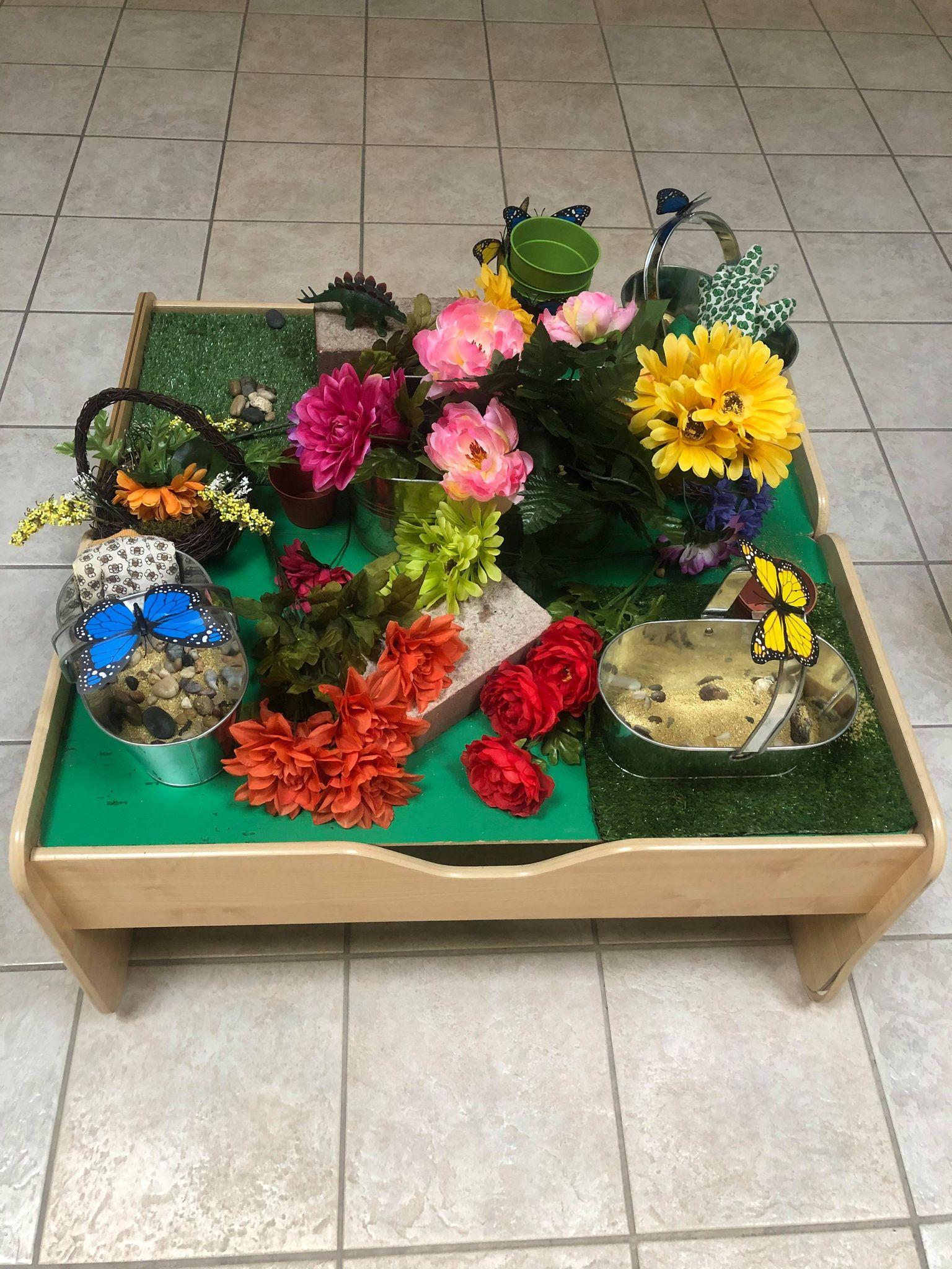 Garden Sensory Table