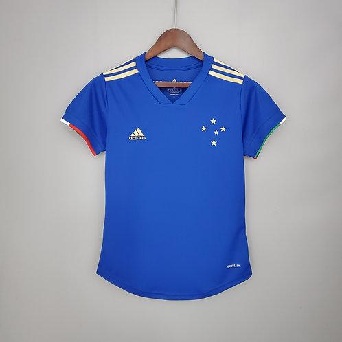 Camisa Feminina - Cruzeiro I 21/22