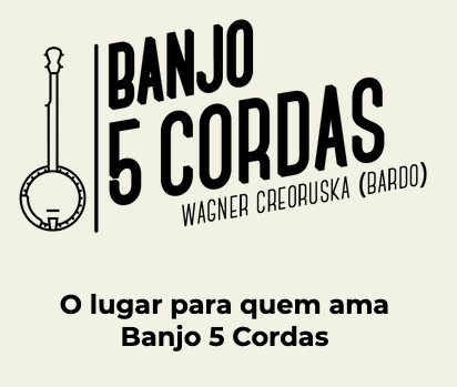 Banjo bluegrass, banjo 5 cordas