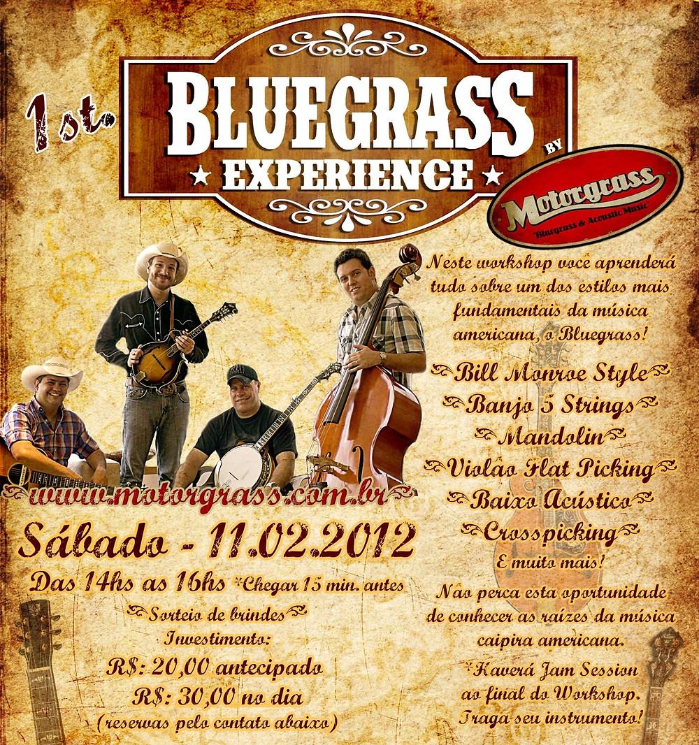 Bluegrass no Brasil, Mandolin, Banjo country