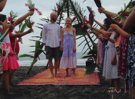Our Sandy Salty Costa Rican Wedding