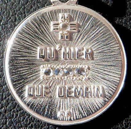 VINTAGE'+ QU'HIER - QUE DEMAIN ' THE 50'S CHARM PENDANT SIGNED A.AUGIS