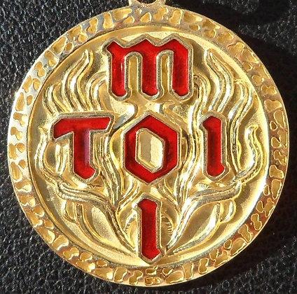 VINTAGE FRENCH ' TOI & MOI ' CHARM / PENDANT