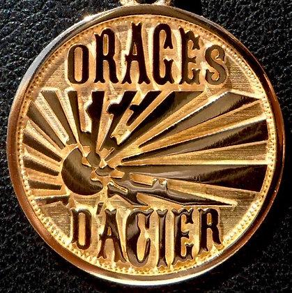 VINTAGE 'ORAGES D'ACIER ' THE 80'S CHARM PENDANT