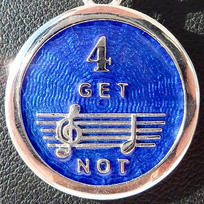 '4 GET ME NOT ' CHARM SIGNED RIPP