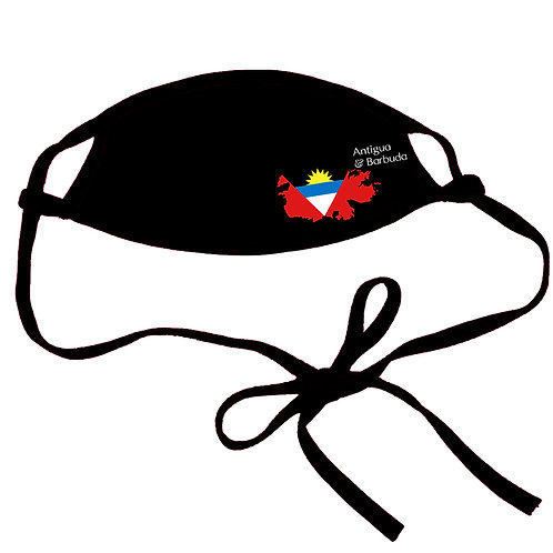 Antigua & Barbuda Non-medical Cotton Mask