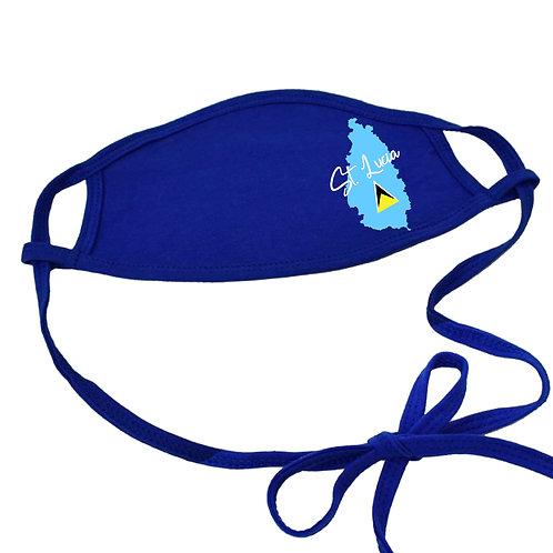 St Lucia Non-medical Cotton Mask