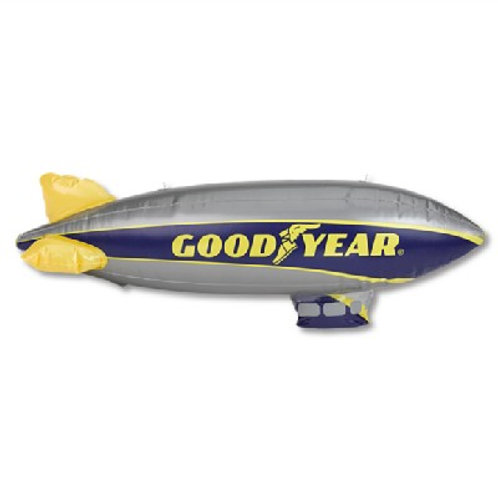 "Inflatable 33"" Wingfoot One Blimp"