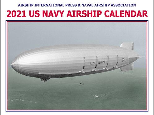 2021 US Navy Airship Calendar