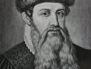 Gutenberg invented the internet...well...