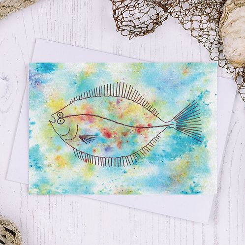 Plaice Greetings Card