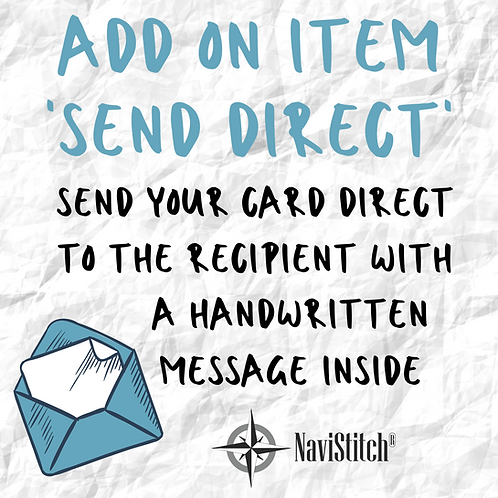 Send Direct - a handwritten card, posted directly to the recipient