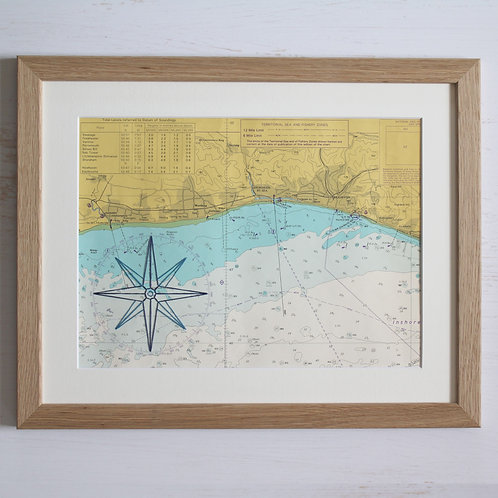 Brighton Mounted Original 14x11 Unframed