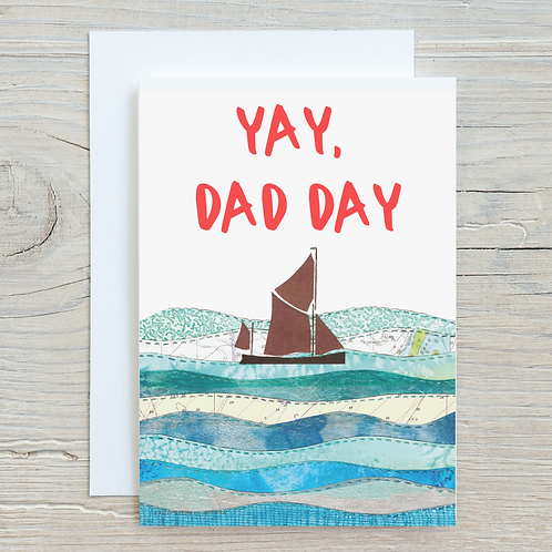 Yay, Dad Day Greetings Card A5
