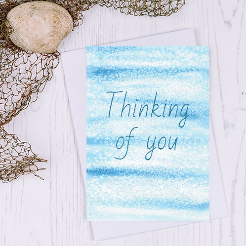 Thinking of you Greetings Card - A6