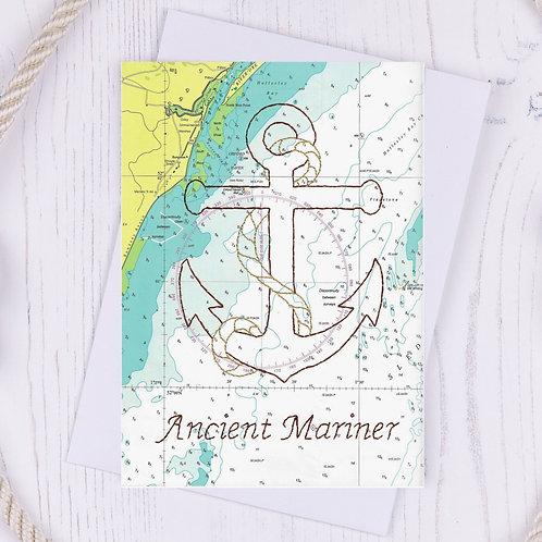 Ancient Mariner Greetings Card - A6