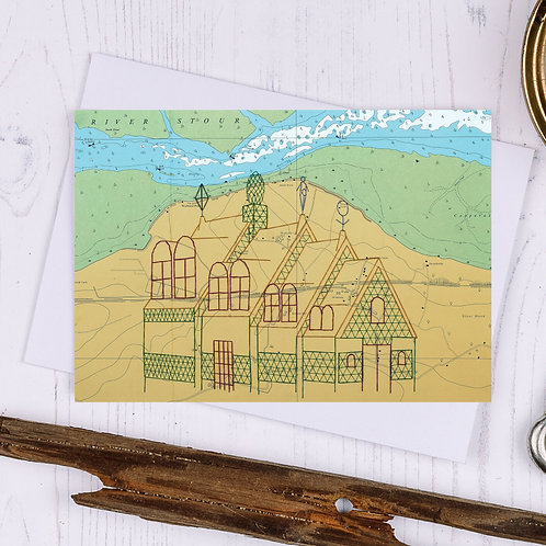 A House for Essex Greetings Card