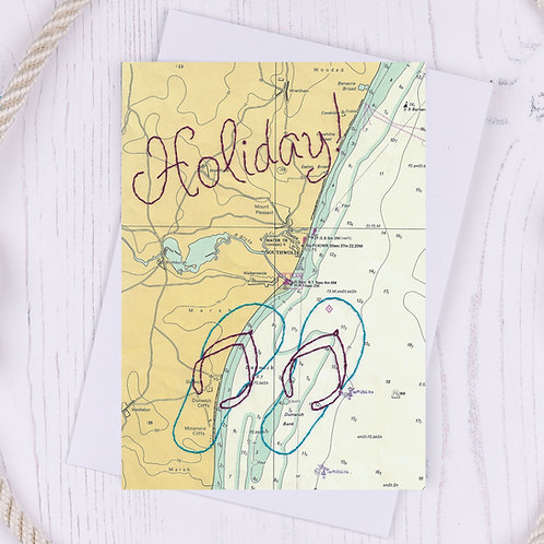 Holiday Greetings Card - A6