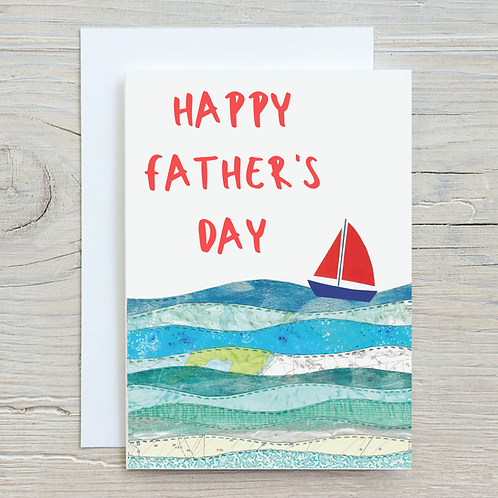 Happy Father's Day Greetings Card A5