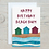 Thumbnail: Happy Birthday Beach Bum Card - Can be personalised A5