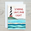 Thumbnail: Sending Love and Light Card - Can be personalised A5