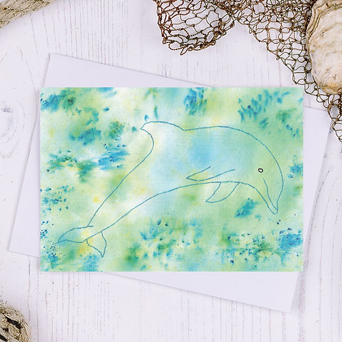 Dolphin Greetings Card