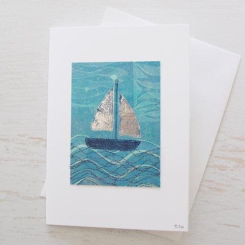 Handmade 5x7 inch Art Card