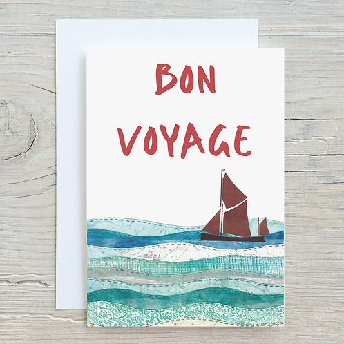 Bon Voyage Card - A5