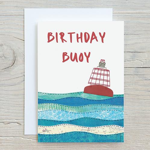 Birthday Buoy Card - A5