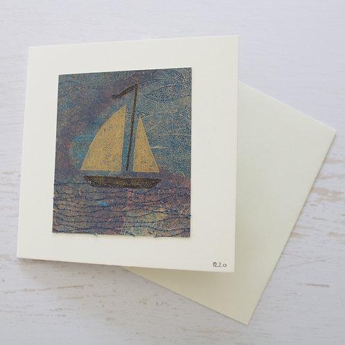 Handmade Square Art Card