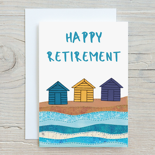Happy Retirement Card - Can be personalised A5