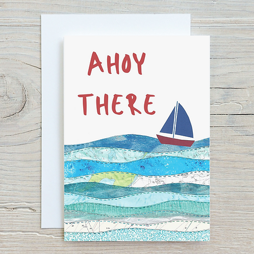 Ahoy there Card - A5