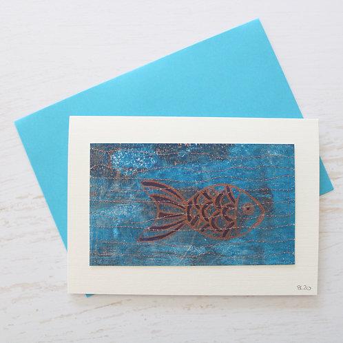 Handmade A6 Art Card