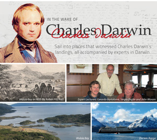 Special departure - The route of Charles Darwin
