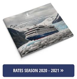 Australis New rates 2020-2021 season