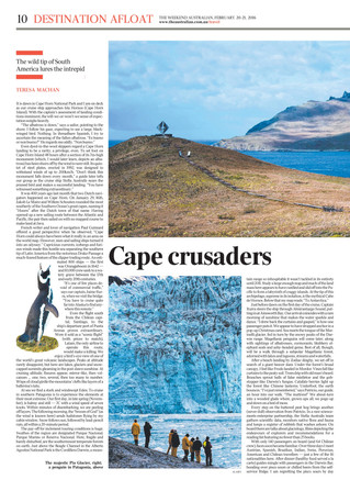 Cape Crusaders - The wild tip of South America lures the intrepid