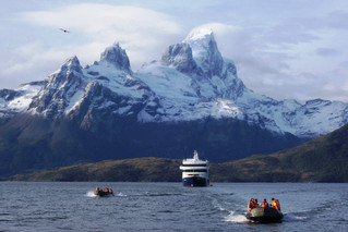 Australis cruise line sells the Via Australis to Lindbald Expeditions