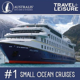 Australis Named #1 in Small Ocean Cruises in World's Best Awards 2016