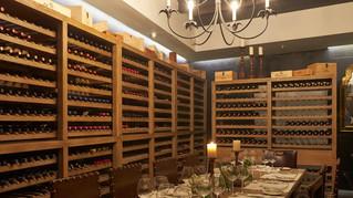 New wine room in The Singular Santiago Hotel