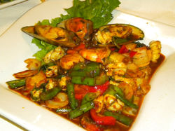 Spicy Seafood Combination