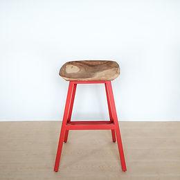 High Butt Stool (Red)