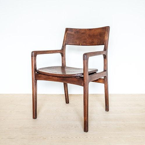 Raised Seat Modern Dining Armchair
