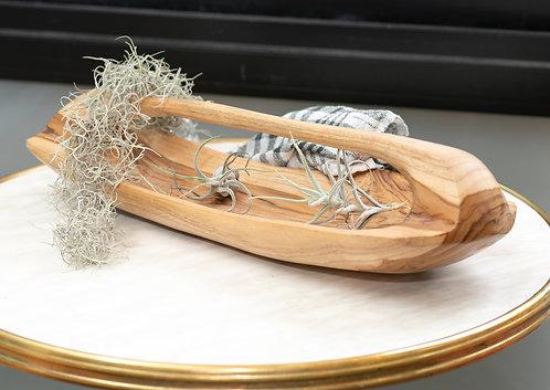 Wooden Boat Tray