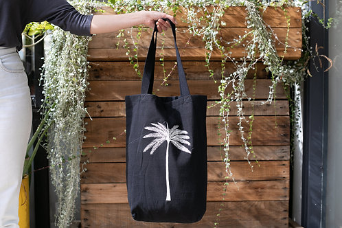 Palm Tree Cotton Bag