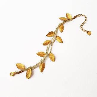 Gold Silk bracelet